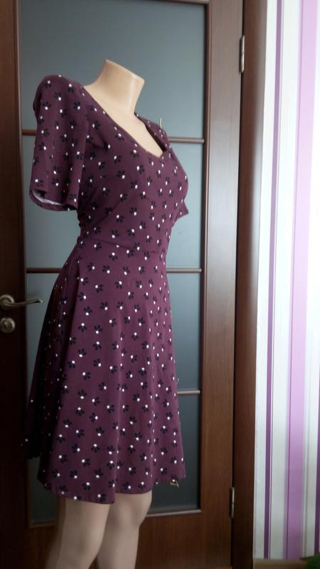 Платье 48 50 размер нарядное мини коктейльное короткое вечернее - Фото 5