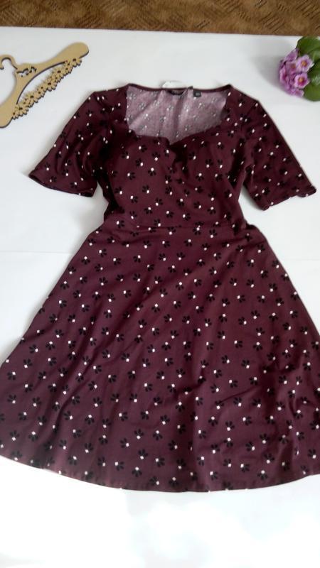 Платье 48 50 размер нарядное мини коктейльное короткое вечернее - Фото 8