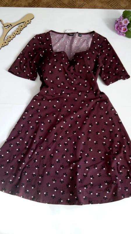 Платье 48 50 размер нарядное мини коктейльное короткое вечернее - Фото 10