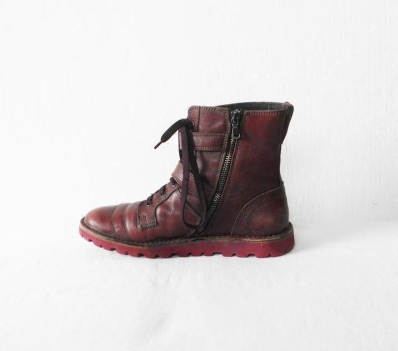 Осенние  кожаные ботинки bata - Фото 3