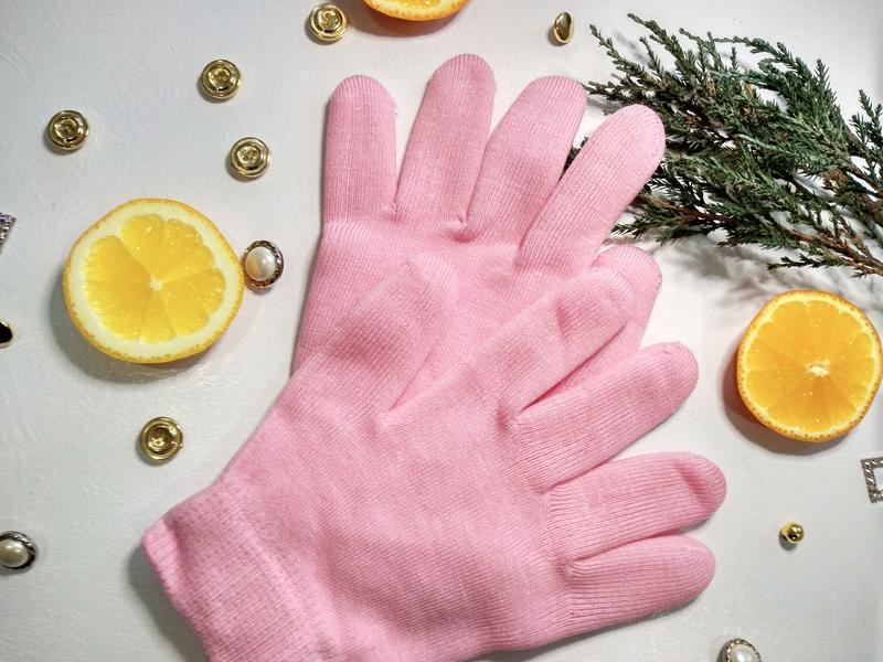 Spa перчатки | косметические увлажняющие перчатки spa gel glov...