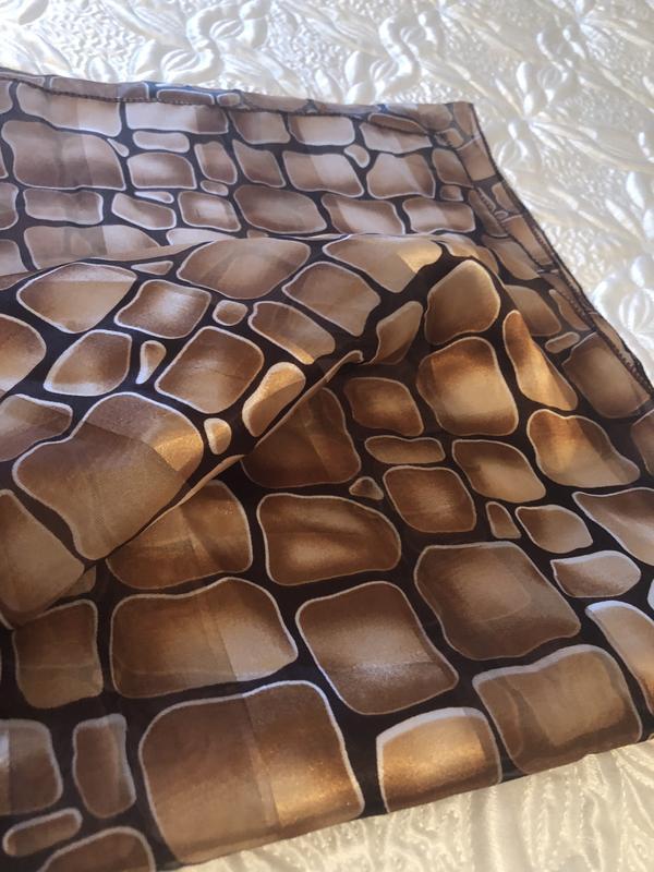 Красивый платок / шарф - Фото 2