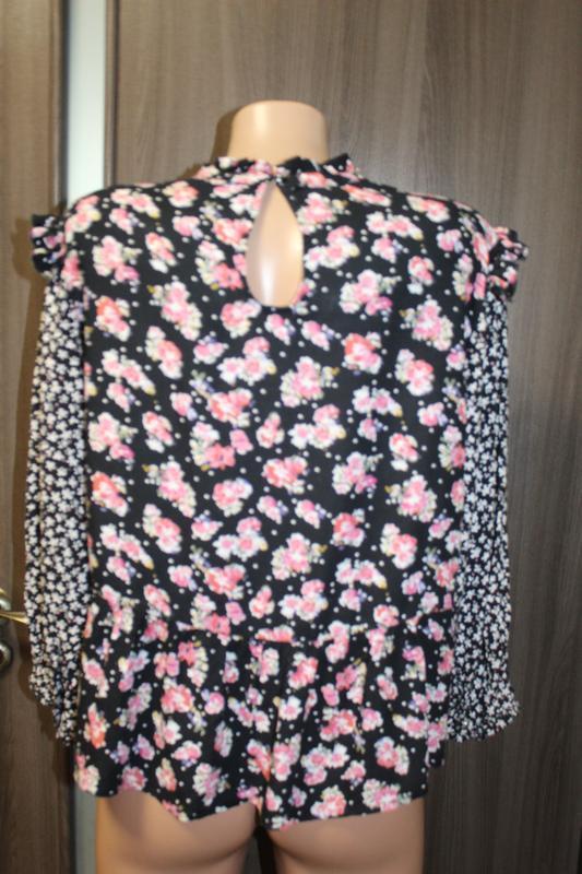 Блузка вискоза by very в идеальном состоянии l - Фото 4
