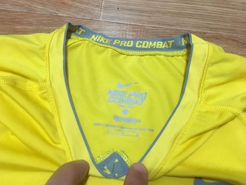 Крутая компрессионная футболка от nike pro combat - Фото 4