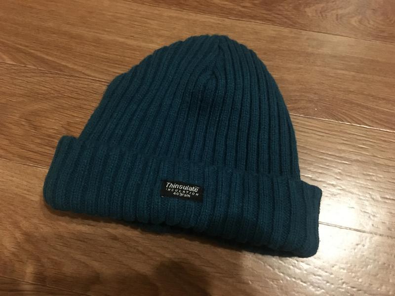 Классная шапка на зиму очень тёплая от trinsulate