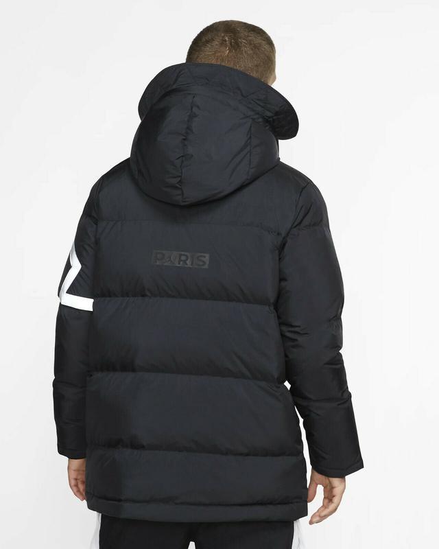 Пуховик куртка парка зимняя nike jordan (s-m-l-xl-2xl) оригина... - Фото 2