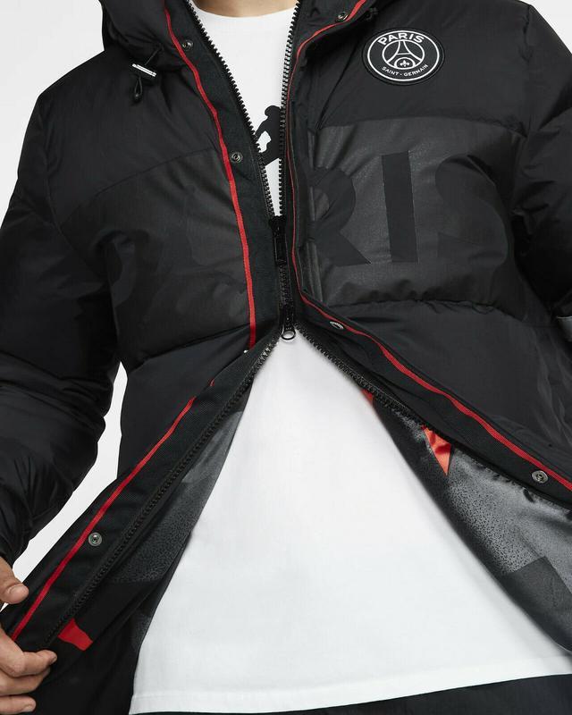 Пуховик куртка парка зимняя nike jordan (s-m-l-xl-2xl) оригина... - Фото 3