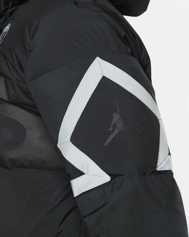 Пуховик куртка парка зимняя nike jordan (s-m-l-xl-2xl) оригина... - Фото 5