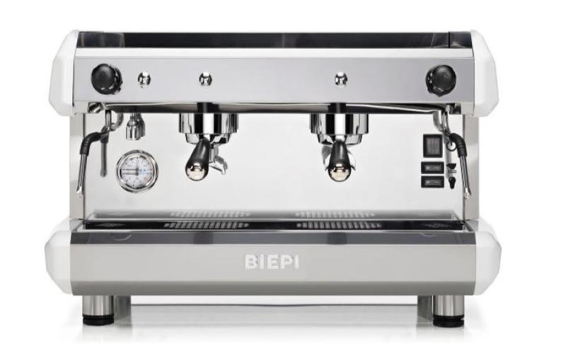 Полуавтоматическая кофемашина BIEPI - две группы