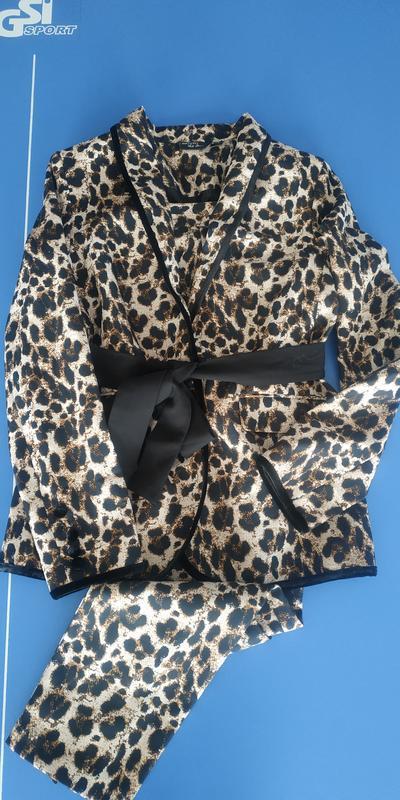 Брючный костюм esmara леопардовый принт