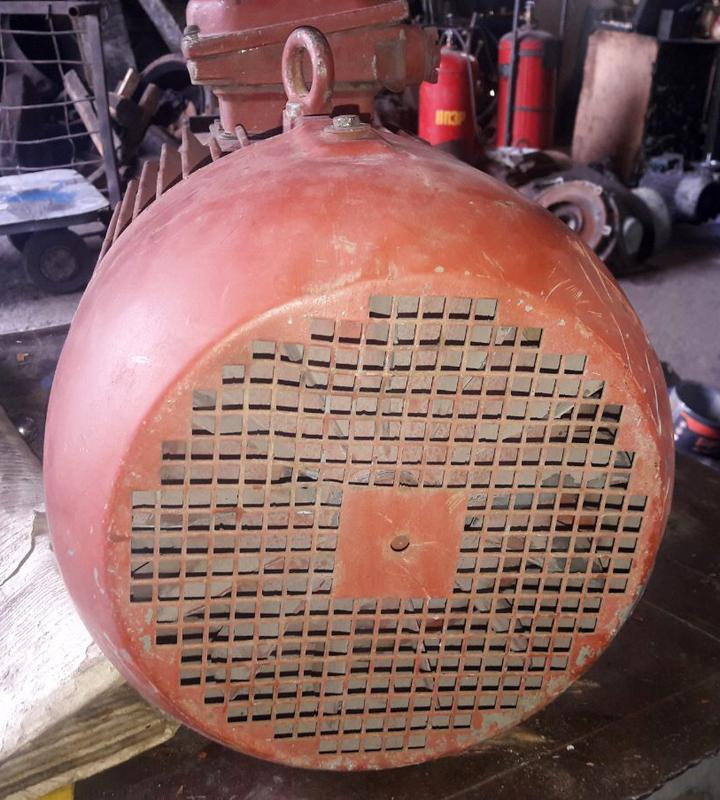 Электродвигатель 4АМ 132 7,5 кВт/1000 об. фланцевый - Фото 4