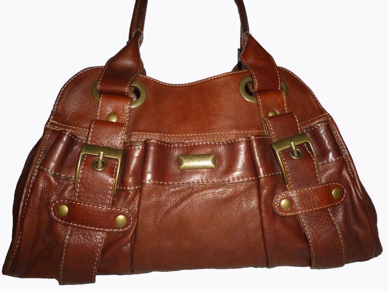 Стильная сумка натуральная кожа firenze италия