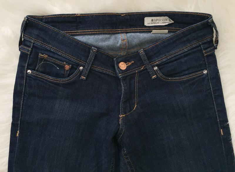 Джинсы, джинси h&m super sqin - Фото 3