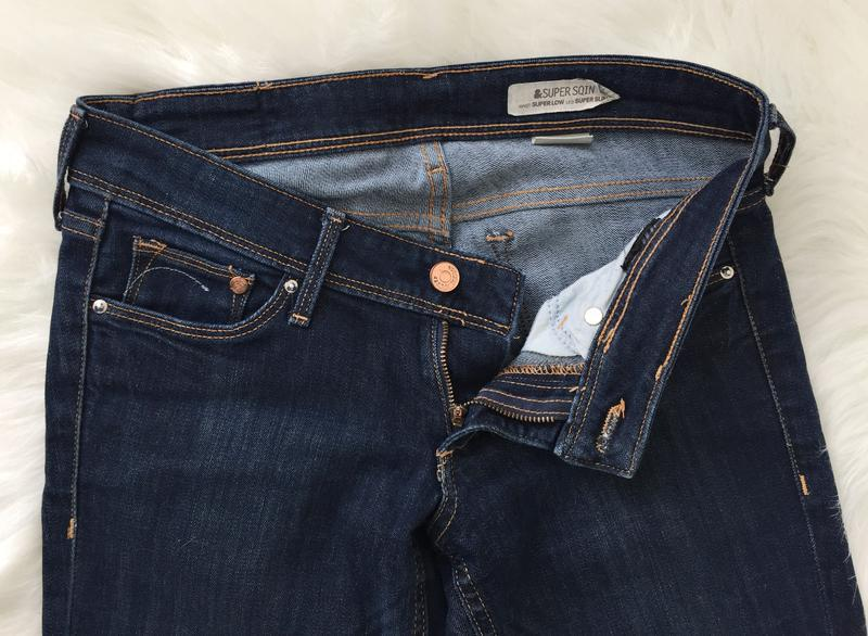 Джинсы, джинси h&m super sqin - Фото 5