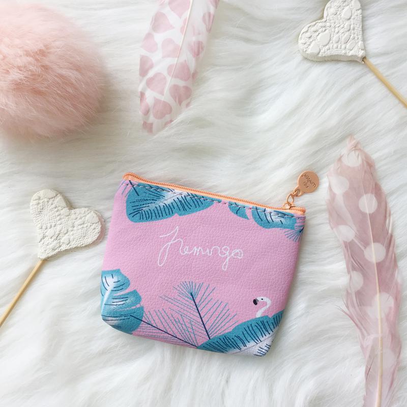 Кошелек, кошелёк, гаманець, фламинго, фламінго - Фото 3