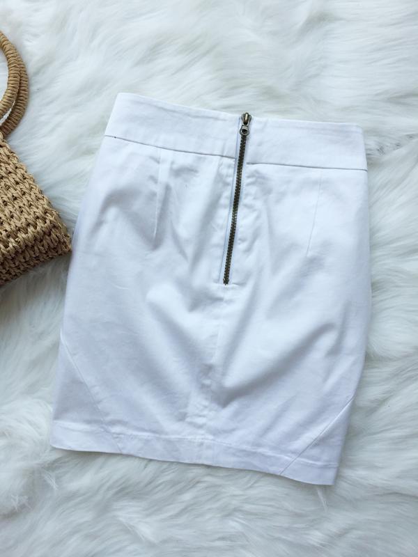 Юбка, белая юбка - Фото 2