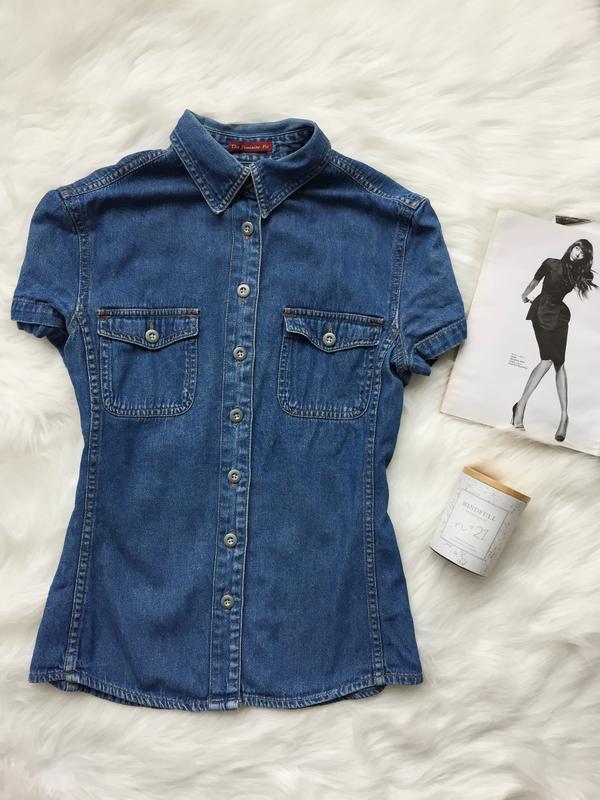 Рубашка, джинсовая рубашка, сорочка, джинсова сорочка, джинс