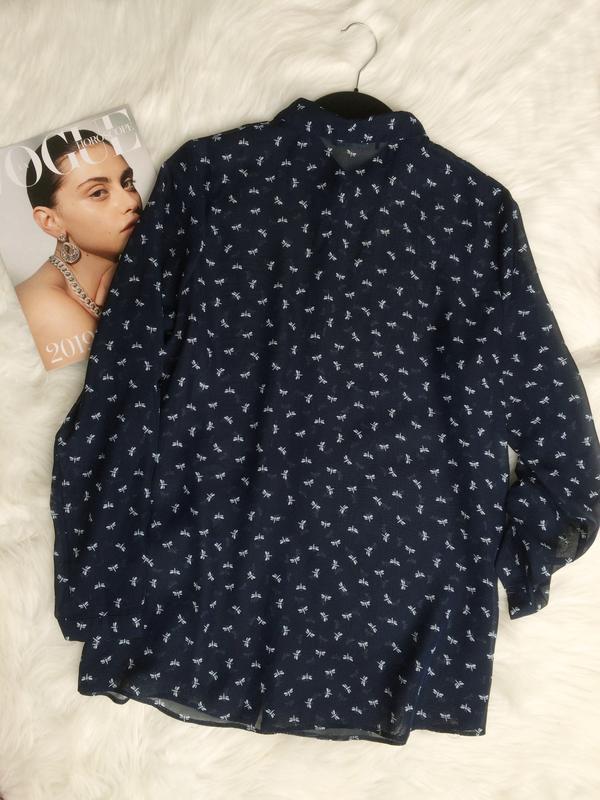Блуза, рубашка, сорочка, шифоновая блуза, блуза atmosphere - Фото 2