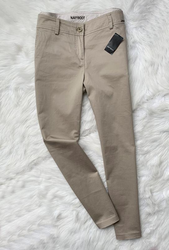 Гтаны, штани, брюки, бежевые, navyboot