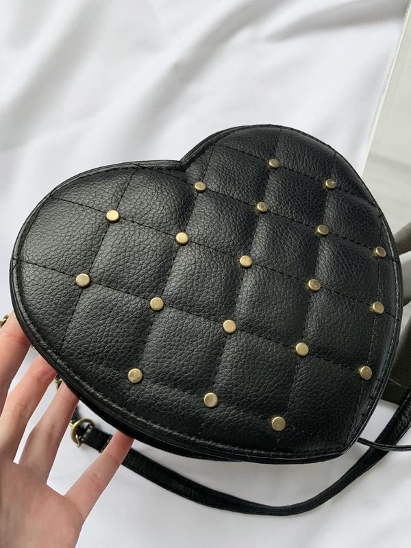 Сумка, сумочка, кроссбоди, crossbody,в виде сердца,у вигляді с... - Фото 3