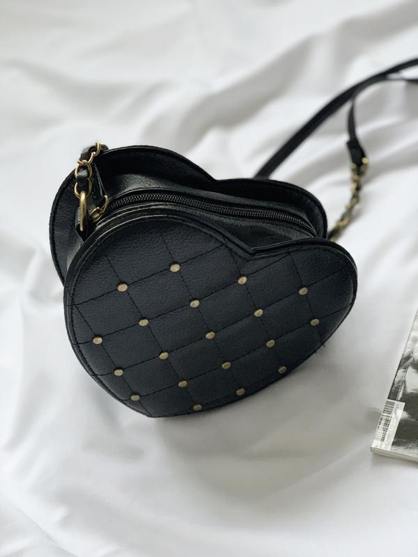 Сумка, сумочка, кроссбоди, crossbody,в виде сердца,у вигляді с... - Фото 5
