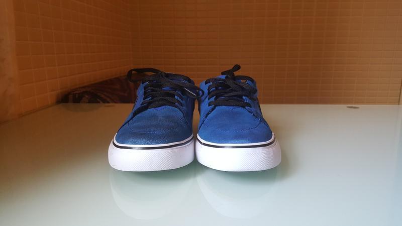 Замшевые кроссовки nike sb original - Фото 2