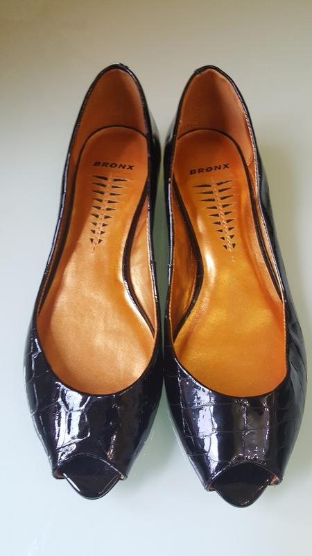 Стильные женские туфли под французский пальчик bronx - Фото 6