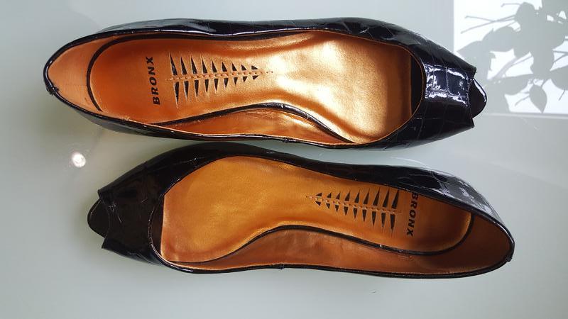 Стильные женские туфли под французский пальчик bronx - Фото 8