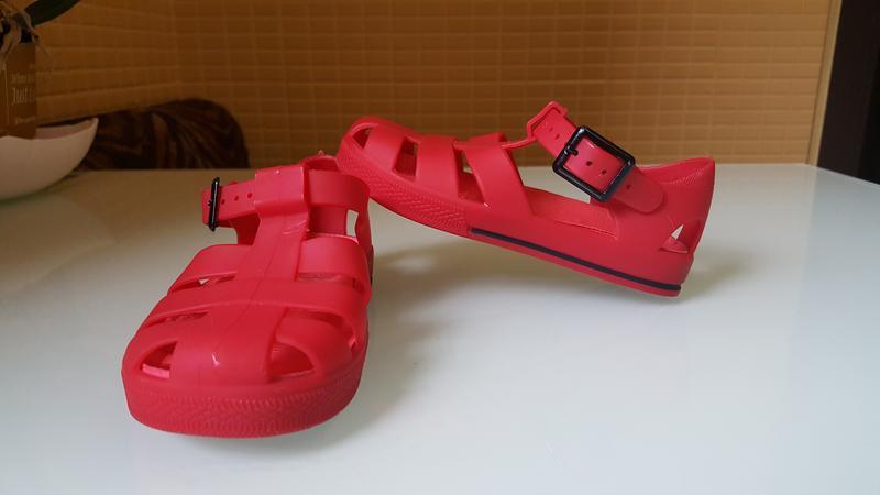 Детские босоножки сандали силиконовые фирменные river island