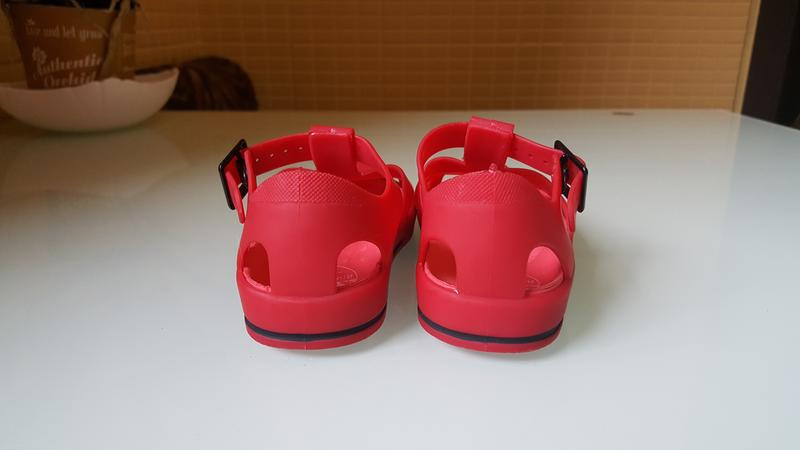 Детские босоножки сандали силиконовые фирменные river island - Фото 4