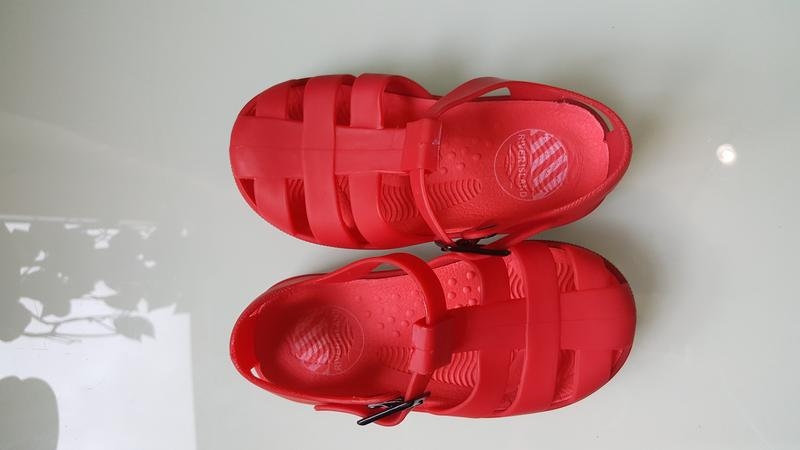 Детские босоножки сандали силиконовые фирменные river island - Фото 5