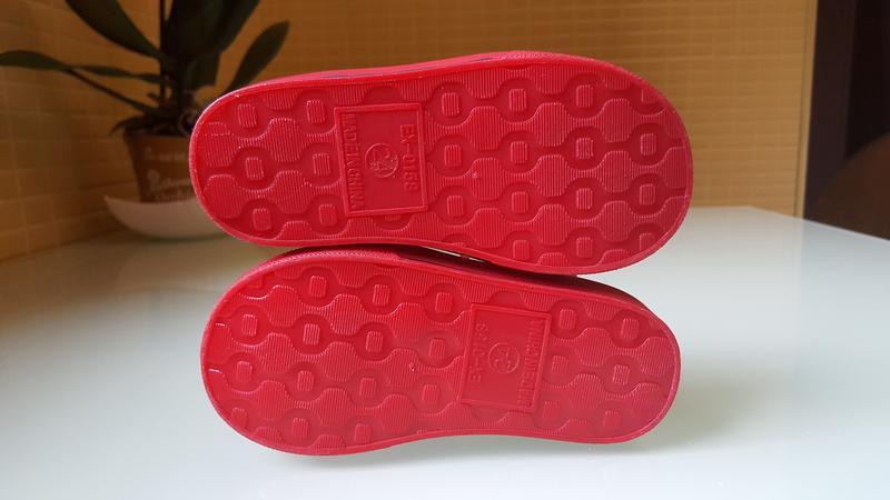 Детские босоножки сандали силиконовые фирменные river island - Фото 7