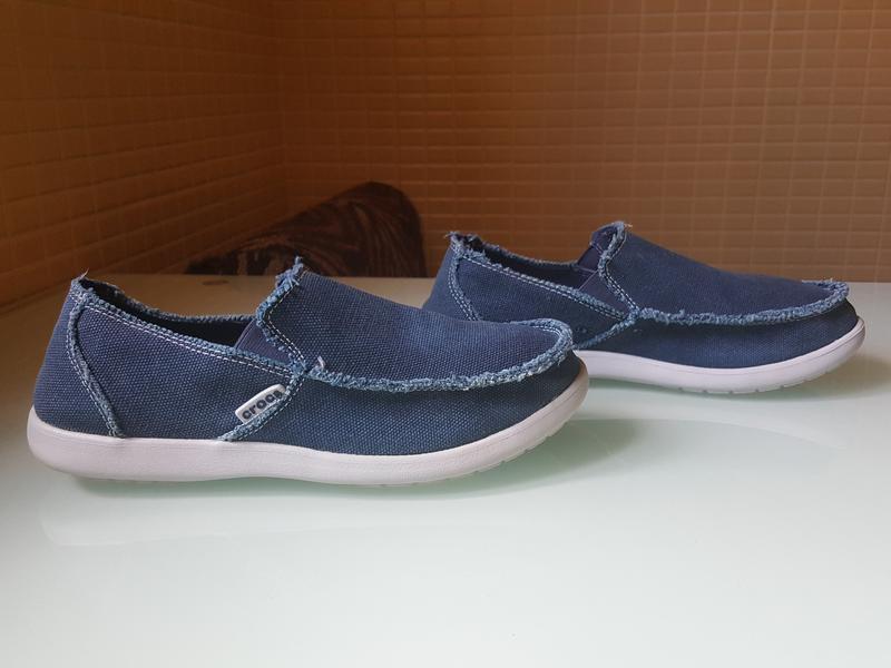 Мужские фирменые мокасины crocs original - Фото 3