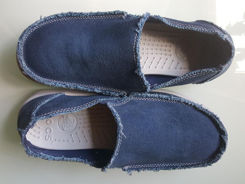 Мужские фирменые мокасины crocs original - Фото 7