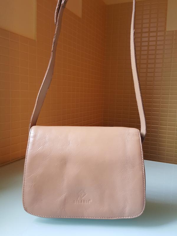 Женская практичная кожаная сумка melanic original