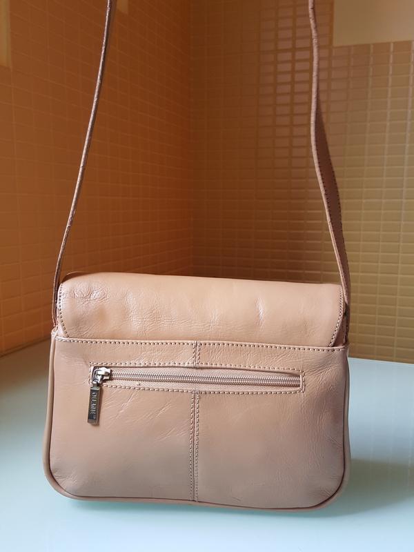 Женская практичная кожаная сумка melanic original - Фото 2