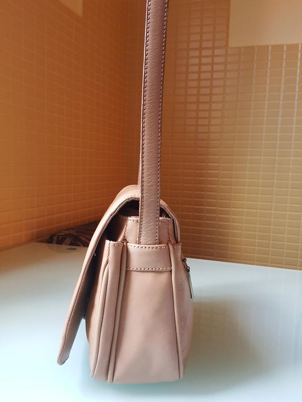 Женская практичная кожаная сумка melanic original - Фото 4