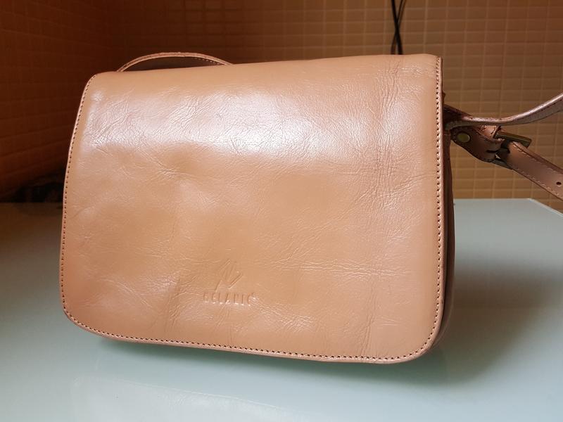 Женская практичная кожаная сумка melanic original - Фото 5