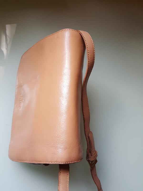 Женская практичная кожаная сумка melanic original - Фото 6