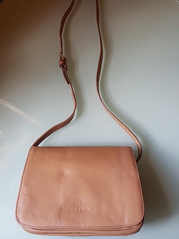 Женская практичная кожаная сумка melanic original - Фото 7
