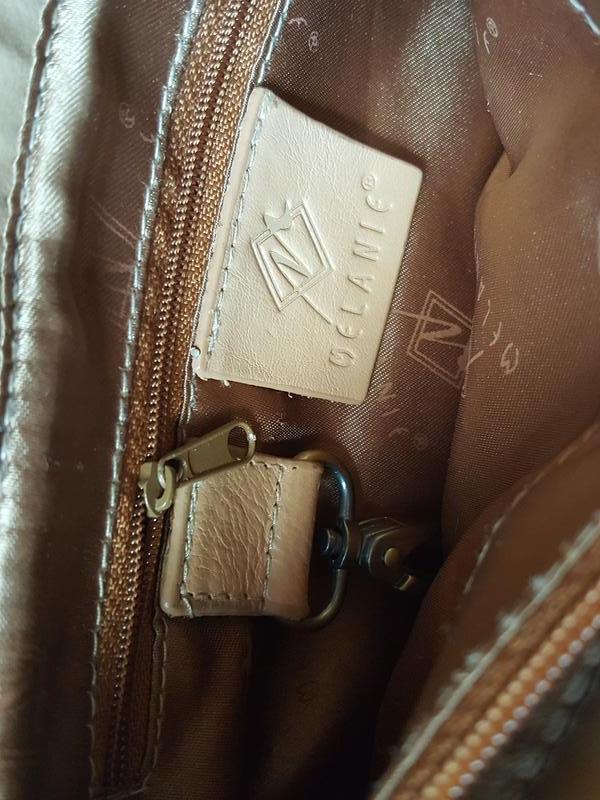 Женская практичная кожаная сумка melanic original - Фото 9