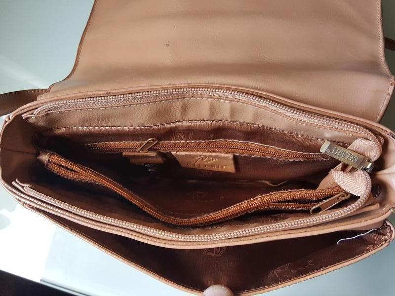 Женская практичная кожаная сумка melanic original - Фото 10