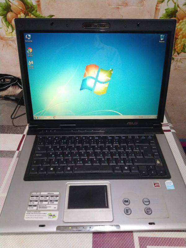 Ноутбук Asus X50V T7200 /2GB /160GB /x2300 Без АКБ