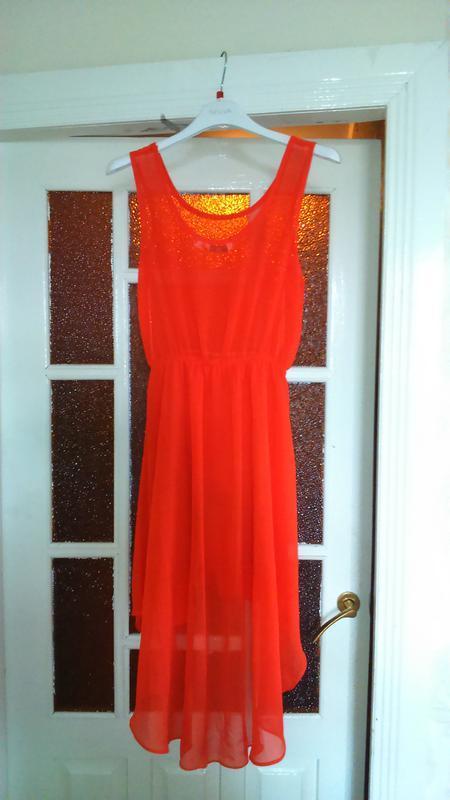 Платье оранжевое42-44