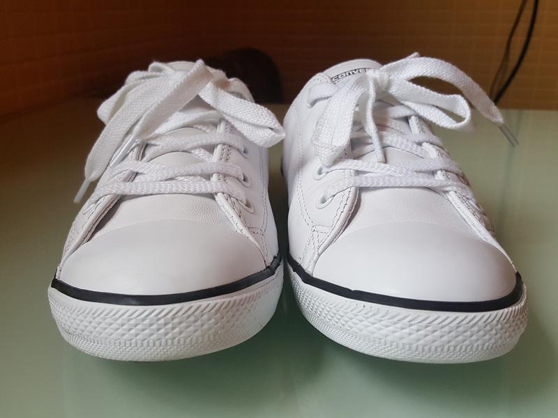 Брендовые модные белые кеды converse original - Фото 2