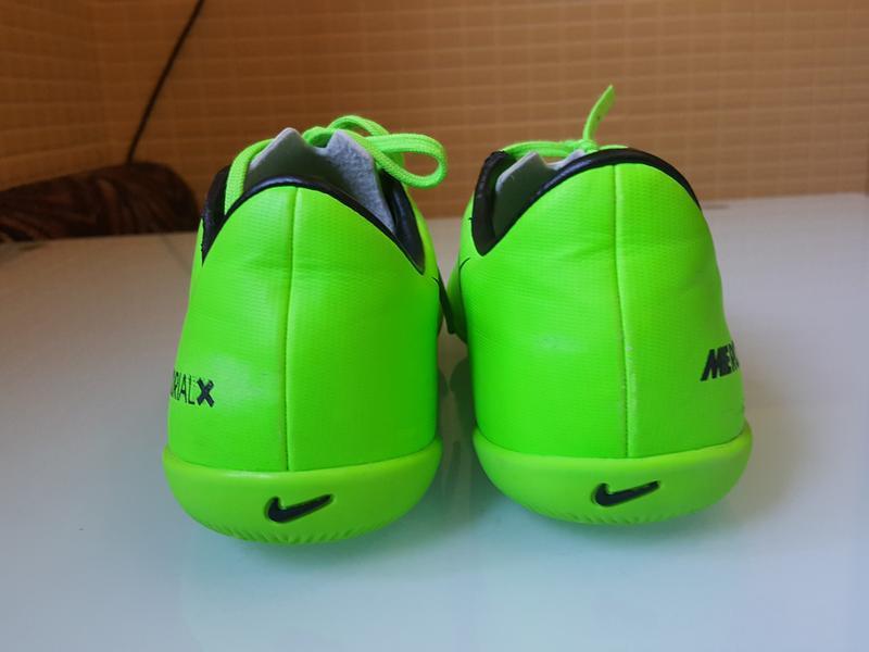 Фирменные красовки для футбола футзалки nike оригинал - Фото 6