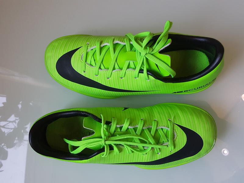 Фирменные красовки для футбола футзалки nike оригинал - Фото 7