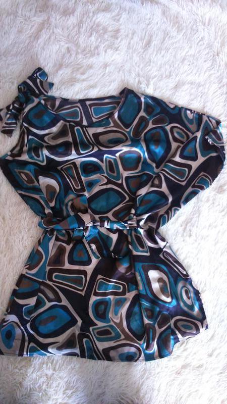 Блузка,кофточка,туника ,италия,размер м