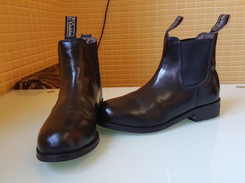 Кожаные демисезонные ботинки челси dublin оригинал
