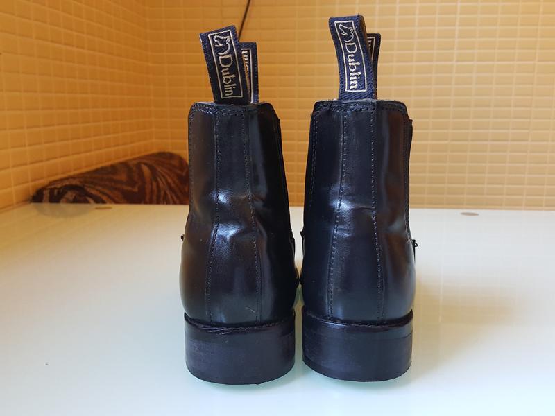 Кожаные демисезонные ботинки челси dublin оригинал - Фото 3